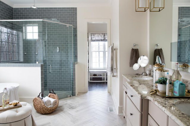 Master Bath of HGTV Smart Home in Raleigh, N.C.