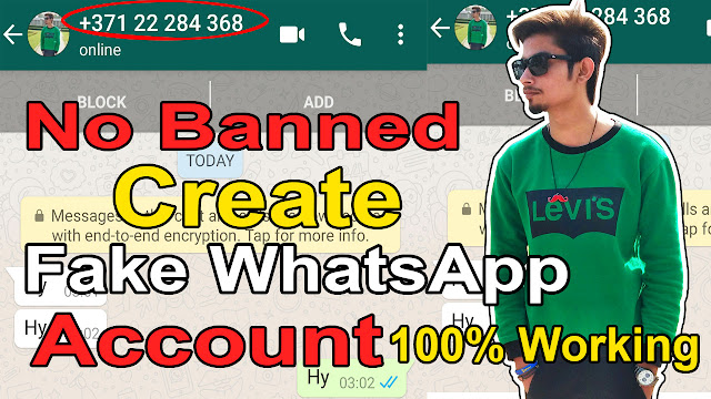 How To Create Fake Whatsapp Account Without Using Your Number