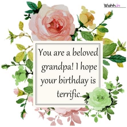 Best Birthday Wishes for Grandpa