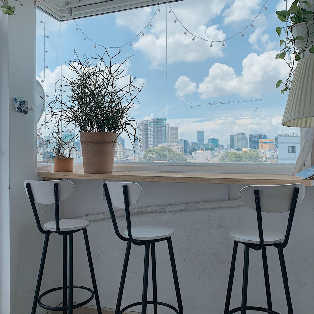 Wildest dreams cafe rooftop bình thạnh navivu.com