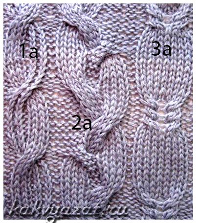 Оригинальные аранские косы (образец).