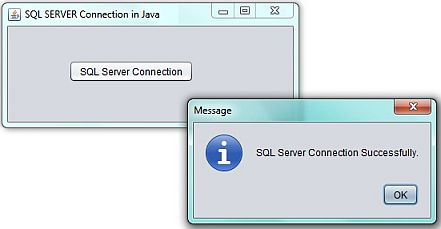 SQL Server Connection String Output in Java