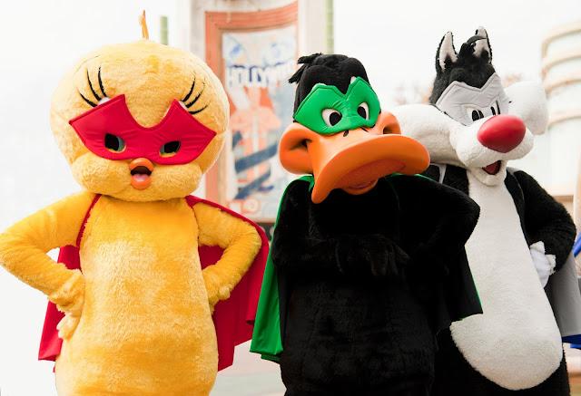 Looney Tunes superhéroes