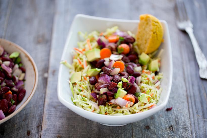 how to make white kidney bean salad
