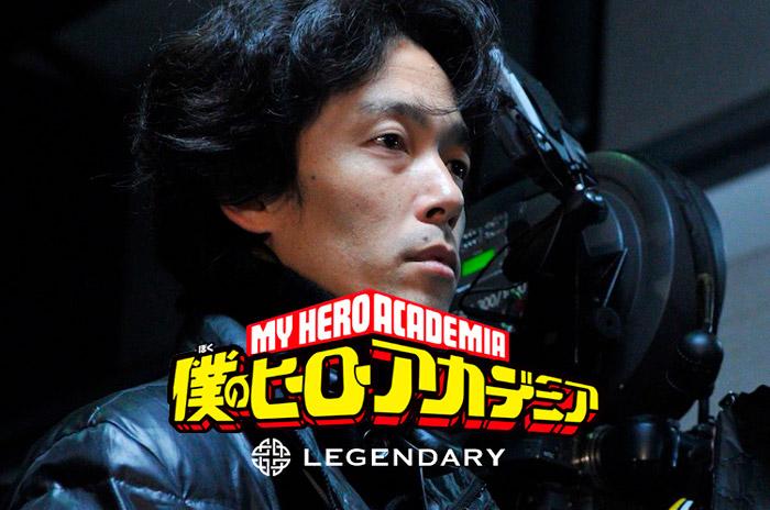 My Hero Academia (Boku no Hero Academia) live-action film - Hollywood - Shinsuke Sato