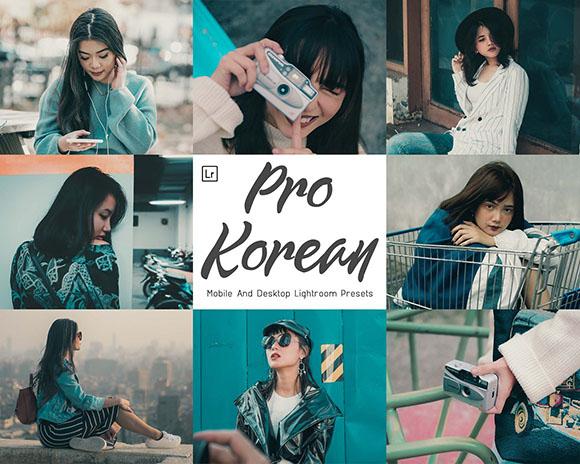7 Preset Lightroom Pro Korean Desktop & Mobile