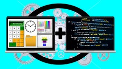 Java & Python 3 GUI application development in one course