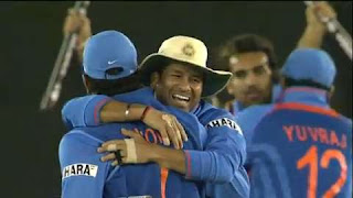 India vs Pakistan 2nd Semi-Final ICC Cricket World Cup 2011 Highlights