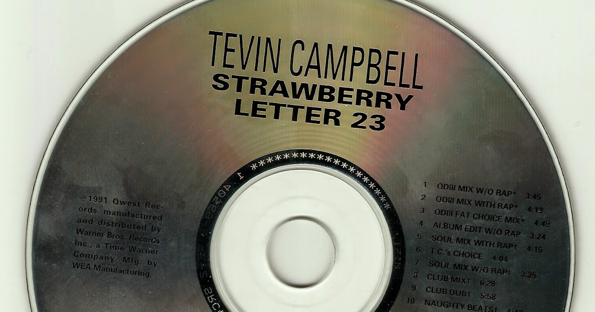 strawberry letter 23 tevin campbell the factory tevin campbell strawberry letter 23 us 14260