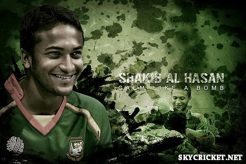 Shakib highest wicket taker in ODI - Test - T20