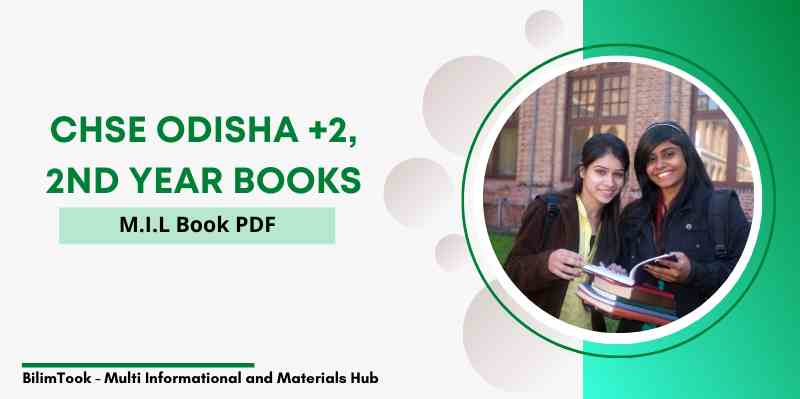 CHSE Odisha Plus Two 2nd Year MIL Book PDF, +2 Arts 2021