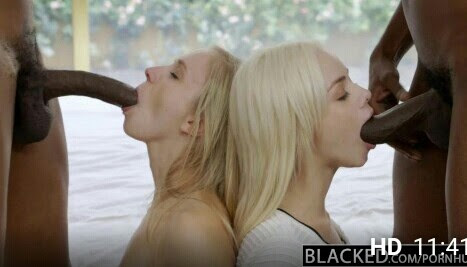 PornHub • three blondes in a delicious interracial orgy