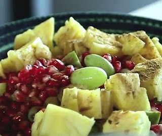 Homemade fruit chaat recipe