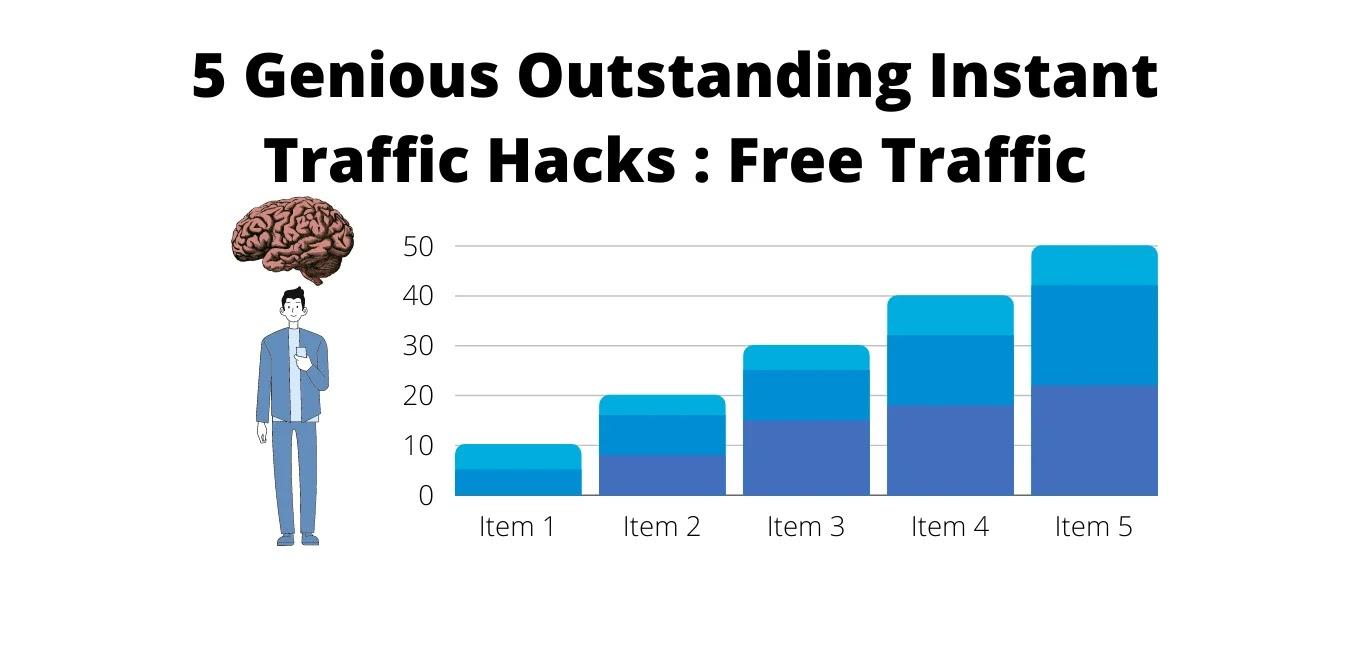 5 Genious Outstanding Instant Traffic Hacks : Free Traffic