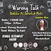 Warung Talk Bersama Ustaz Syed Muhammad Muhiyuddin Al Attas