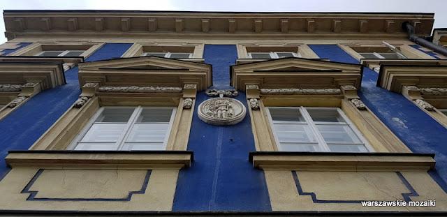 Warszawa Warsaw architektura architecture kamienica sgraffito