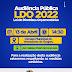 Prefeitura de Guajeru realizará audiência pública para elaboração da LDO 2022
