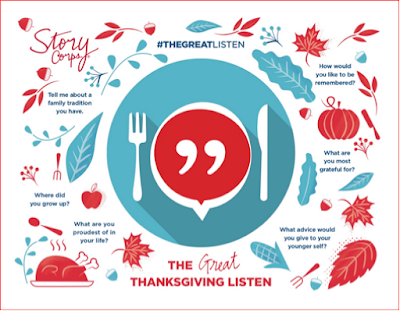 Great Thanksgiving Listen placemat