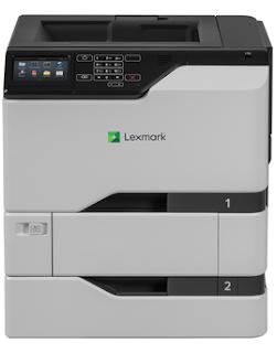 Lexmark CS725dte Treiber herunterladen
