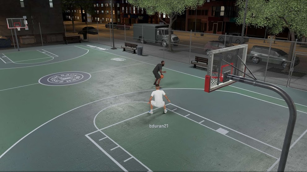 NBA 2K21 Outdoor Blacktop Court for Blacktop by dbphotoinc