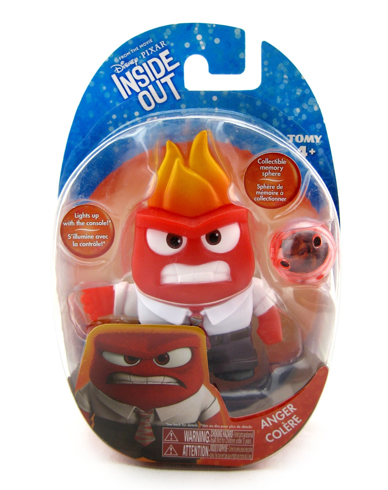 Dan The Pixar Fan Inside Out Tomy Toys Figure Collection