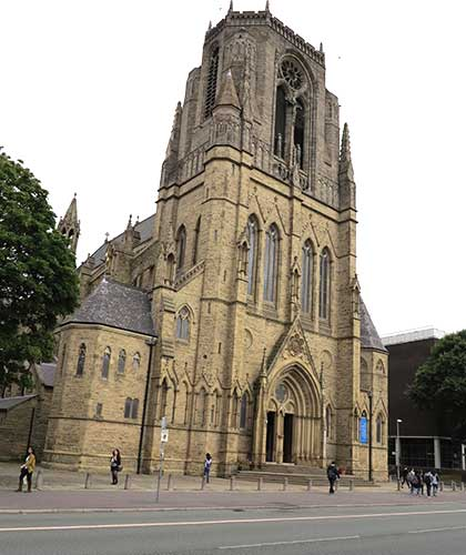 Church of the Holy Name of Jesus Manchester.