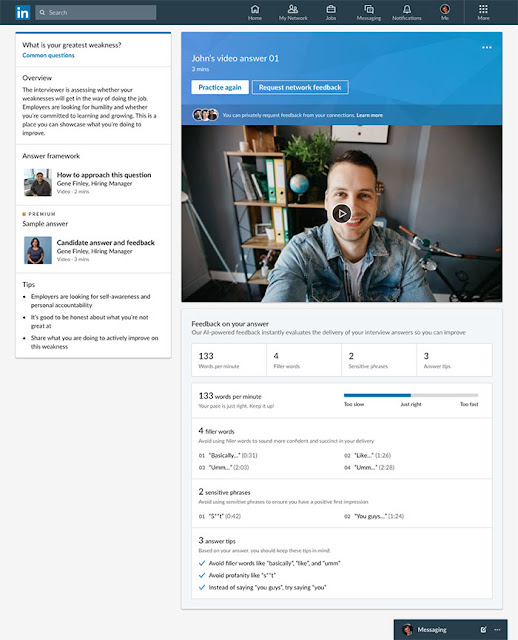 AI-Powered feedback: LinkedIn Virtual Job Interviews Tool: Everything that You Should Know: eAskme