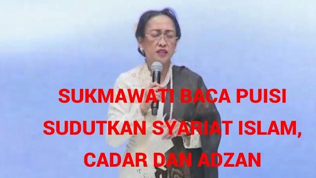 Anggota DPR: Puisi Sukmawati Sama Seperti Kasus Penistaan Agama AHOK