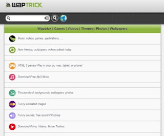List of mobile sites for free download for Android and Java
