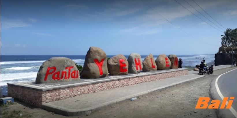 Destinasi Wisata Pantai Yeh Leh Bebatuan Unik Bali Wanawisata