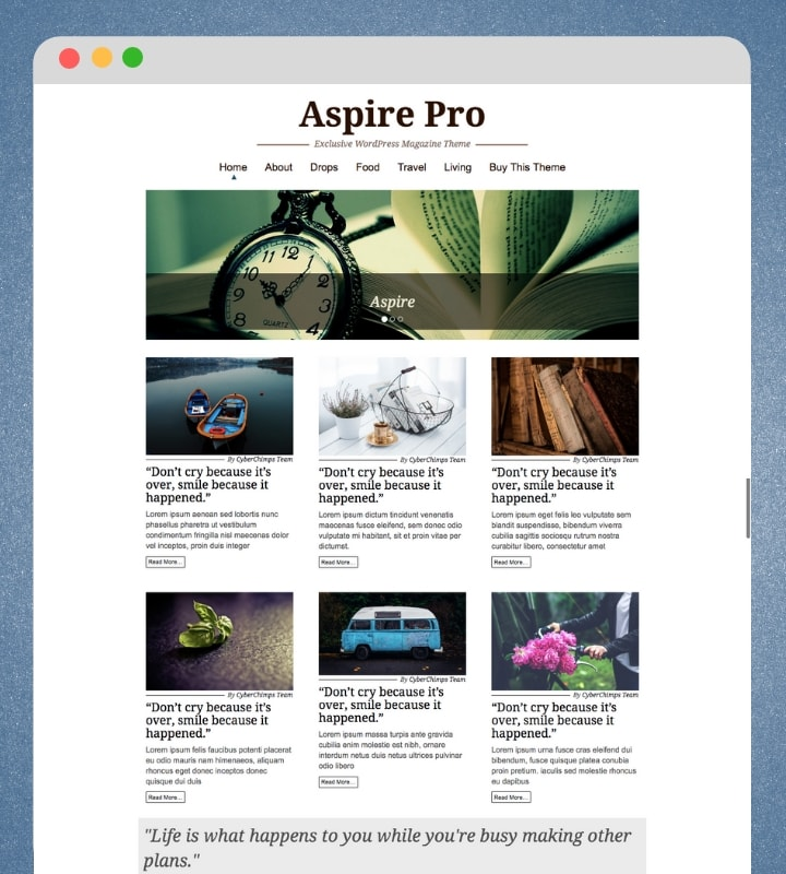 Aspire Pro (Perfect WordPress Magazine Theme)