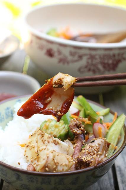 calamar au barbecue vietnam