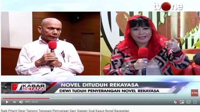 Pihak Novel akan Seret Dewi Tanjung ke Pengadilan: Jangan-jangan Dia di Balik Penyerangan