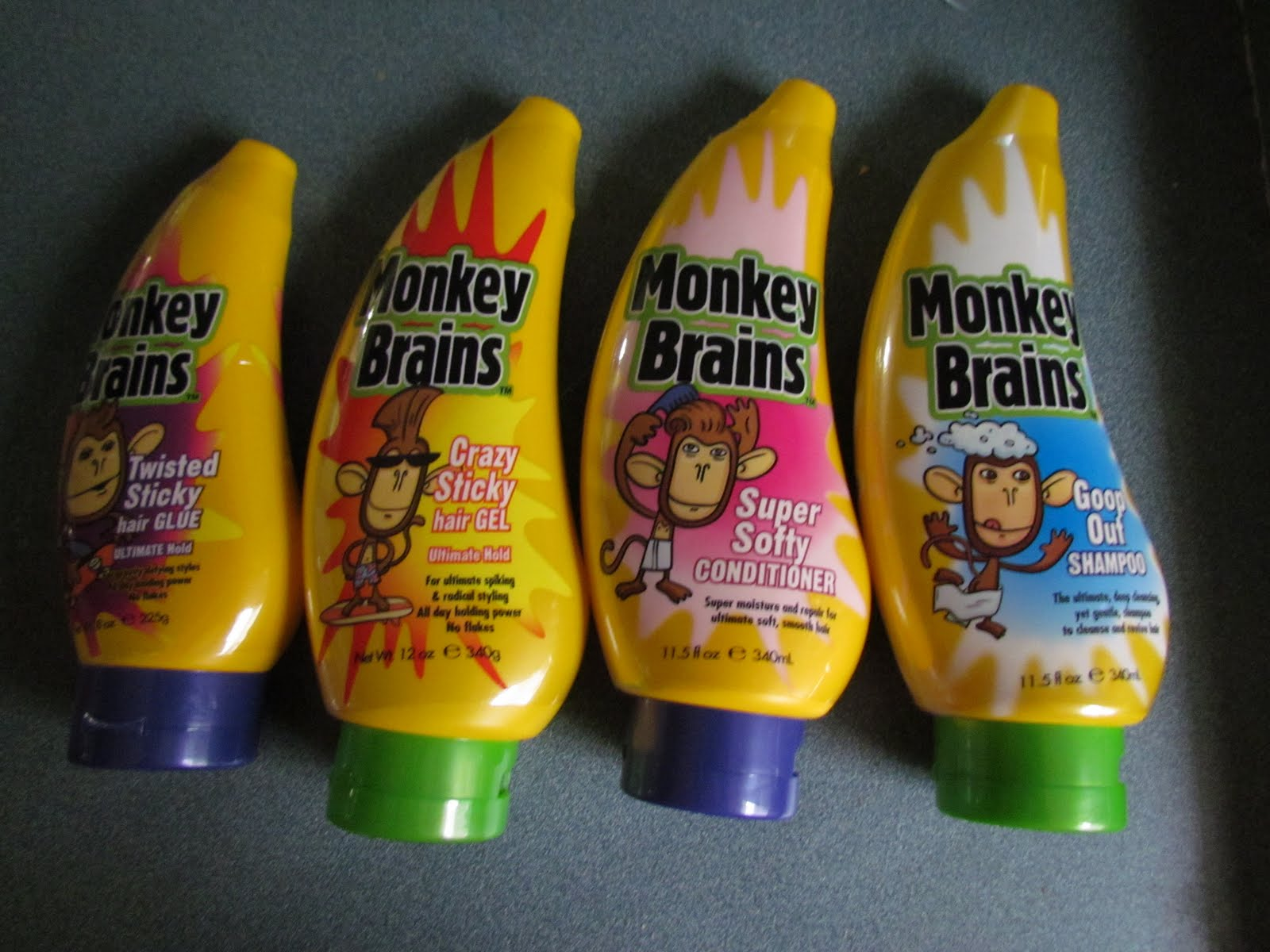Monkey Brains Hair Review Giveaway Closed