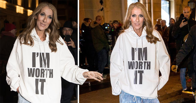 Celine Dion I'm Worth It hoodie. PYGear.com