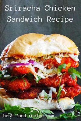 Sriracha Chicken Sandwich Recipe