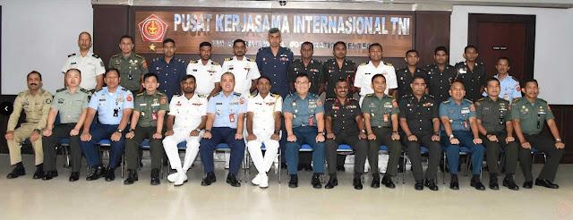 16 Perwira Sesko Sri Lanka Kunjungi Mabes TNI