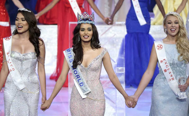 Information about the Indian Manushi Chhillar , Miss World 2017 Winner