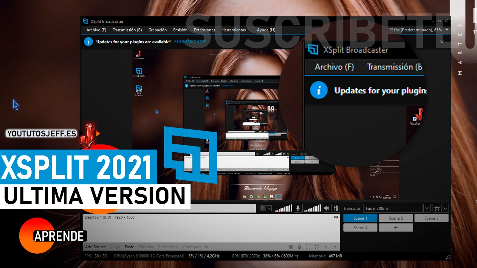 Como Descargar Xsplit Broadcaster Ultima Version 2021 Español
