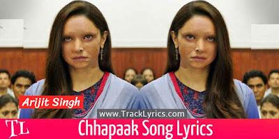 chhapaak-title-song-lyrics