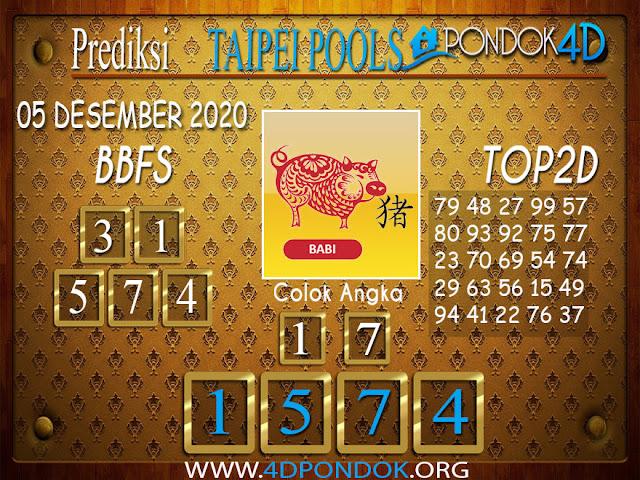 Prediksi Togel TAIPEI PONDOK4D 05 DESEMBER 2020