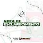 Prefeitura de Pilõezinhos emite Nota de Esclarecimento aos servidores públicos