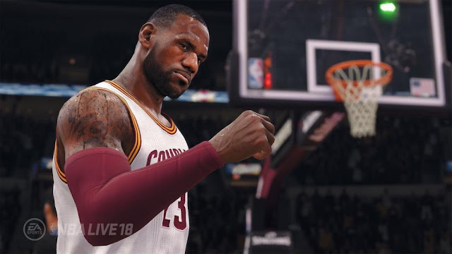 Primer vídeo de NBA Live 2018