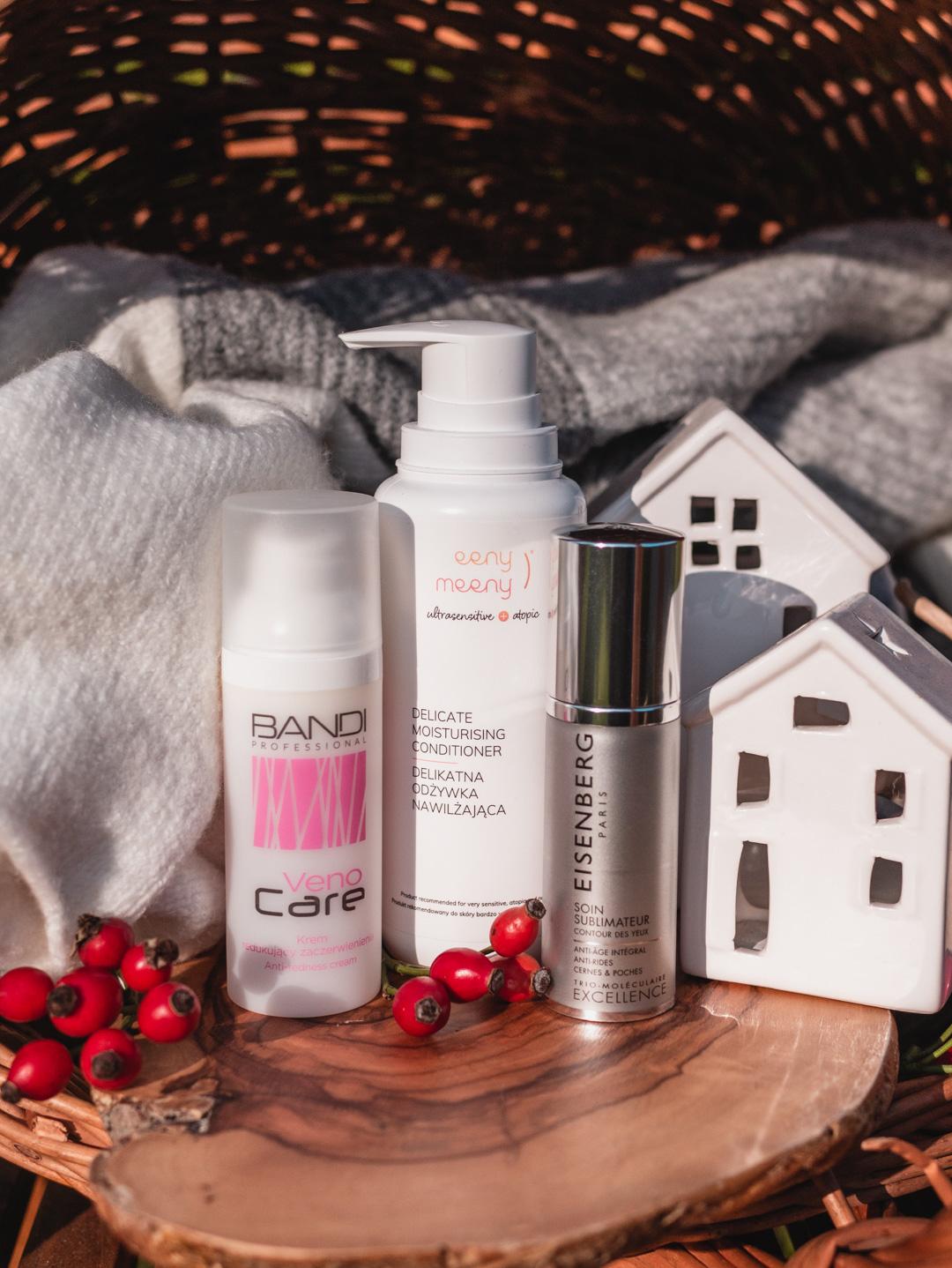 Ulubieńcy ostatnich miesięcy | Bandi Veno Care, Eisenberg Excellence Soin Sublimateur , Eeny Meeny, czyli Ochronny szampon nawilżający i Delikatna odżywka nawilżająca