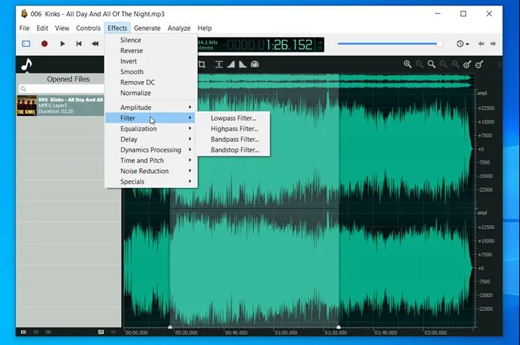 Ocenaudio: Επεξεργαστείτε και μετατρέψτε αρχεία ήχου