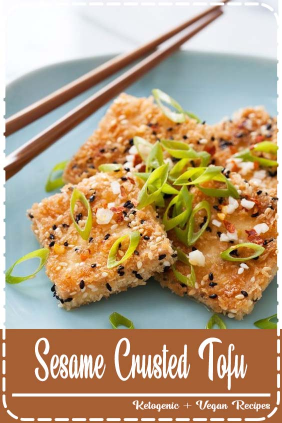 the lifespan of a recipe is often short lived Sesame Crusted Tofu
