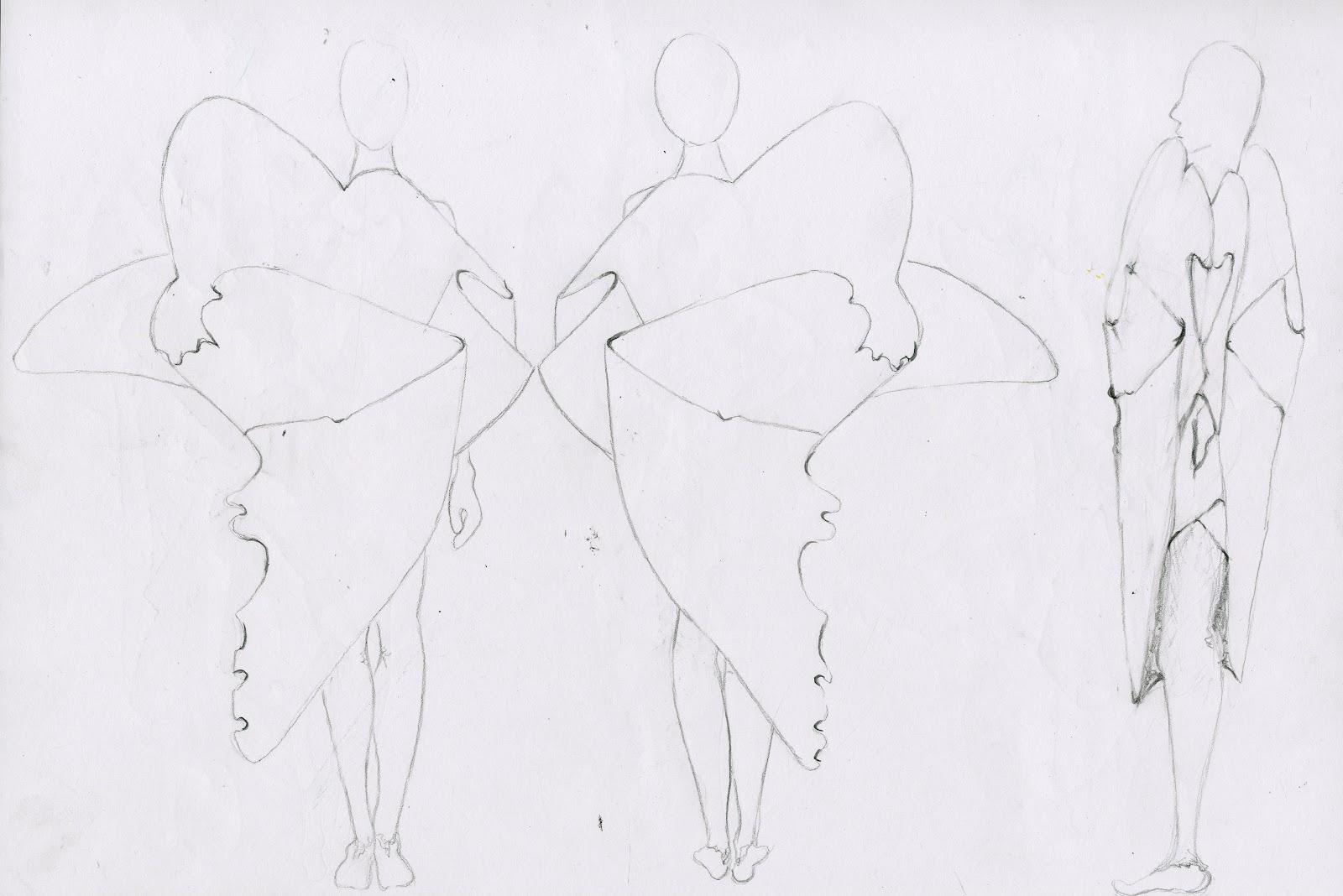 Elizabeth Emery: FASHION: Front back and sides for line-up