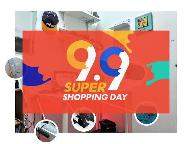 Kempen 9.9 Super Shopping Day Shopee
