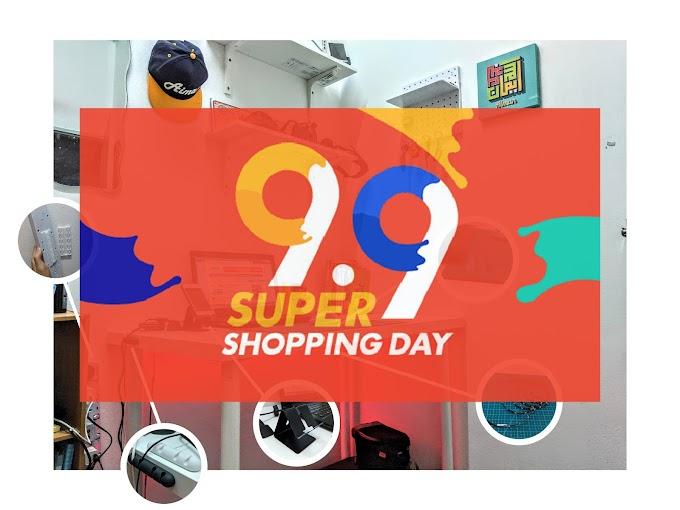 Beli Barang Sempena Kempen 9.9 Super Shopping Day Shopee