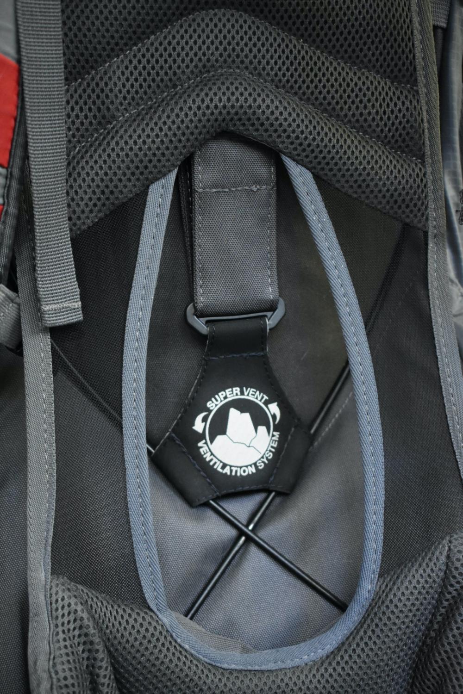 Rücken-Belüftungssystem Kohla Karwendel +38l jetzt Kohla Track +38l
